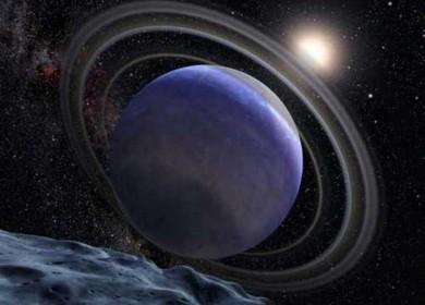 Полет к планете Нептун