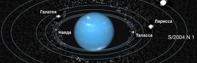 Сколько спутников у Нептуна