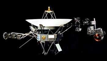 Фото орбитального телескопа Вояджер 1