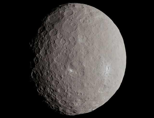 фото планеты Церера