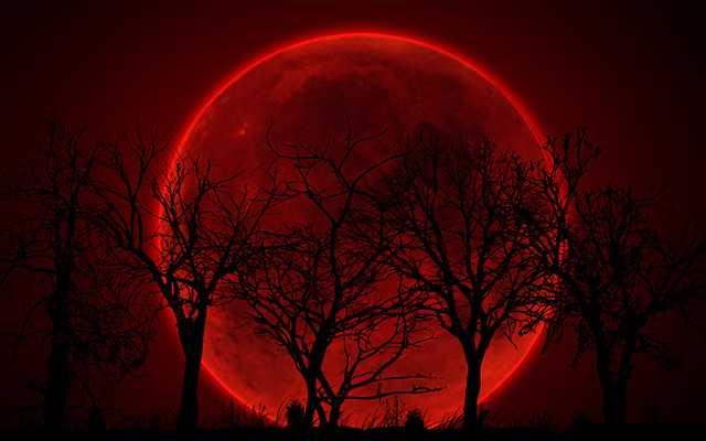 изображение кровавой Луны