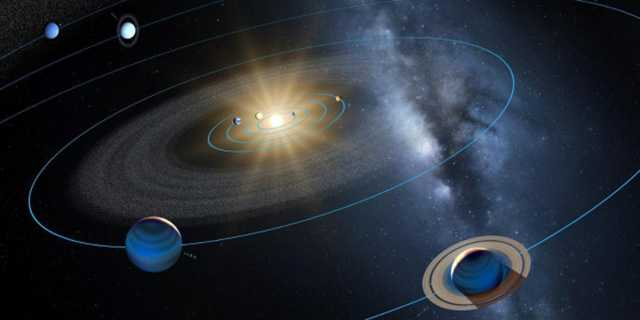 изображение орбиты планеты