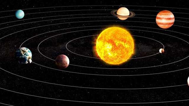 схема движения небесных тел