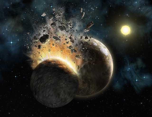 врыв из за астероида