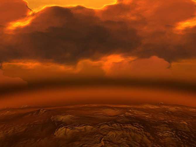 Погода на Венере
